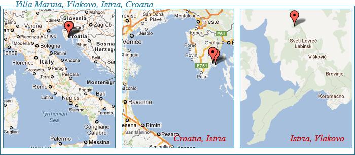 Villa Marina, Istria, Croatia, Holiday Villa Rentals